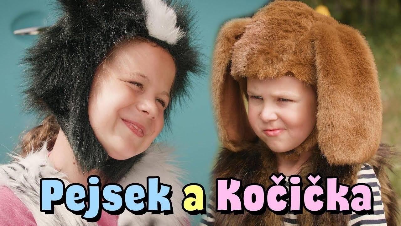 Štístko a Poupěnka - Pejsek a kočička