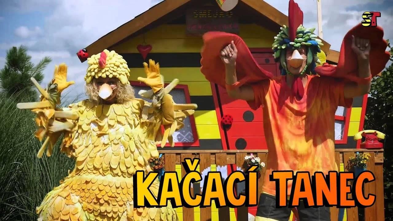 Smejko a Tanculienka - Kačací tanec