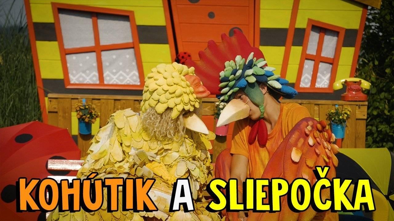 Smejko a Tanculienka - Kohútik a sliepočka