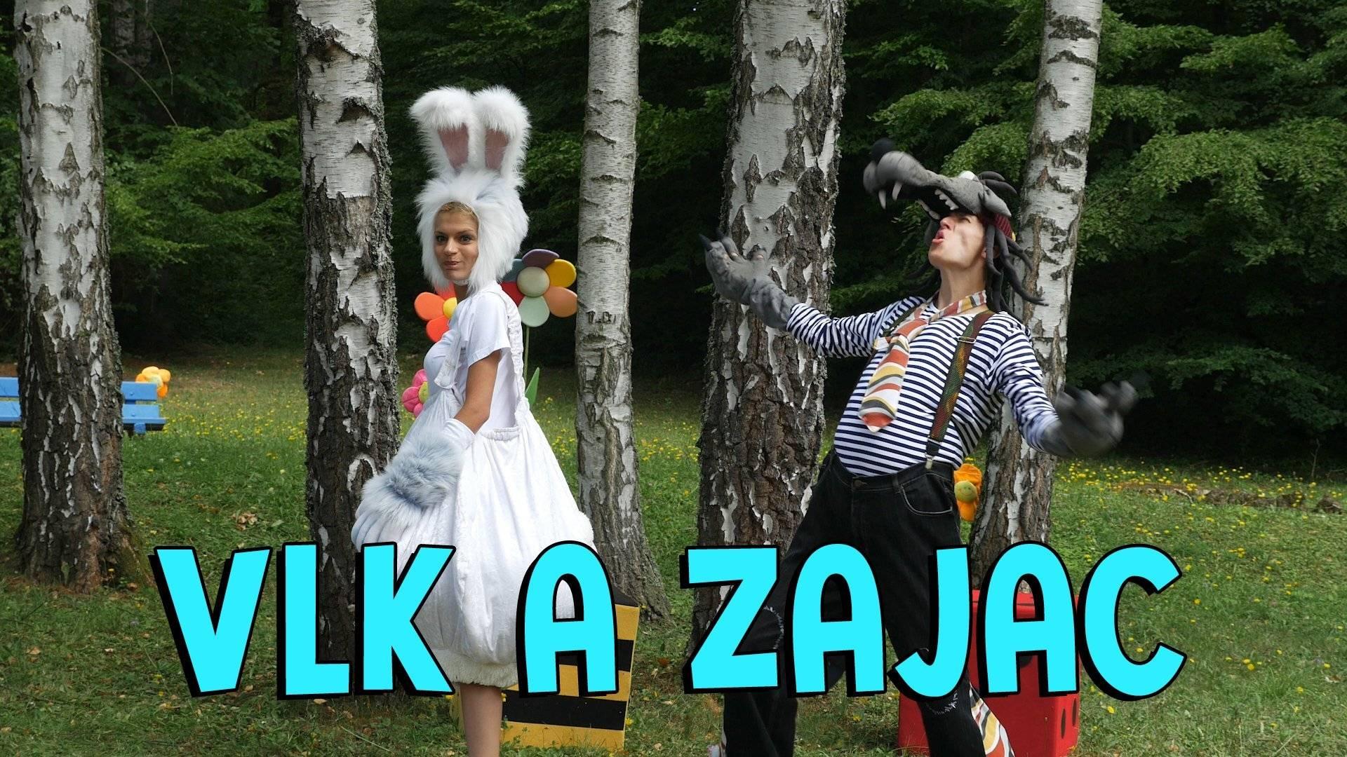 Smejko a Tanculienka - Vlk a Zajac