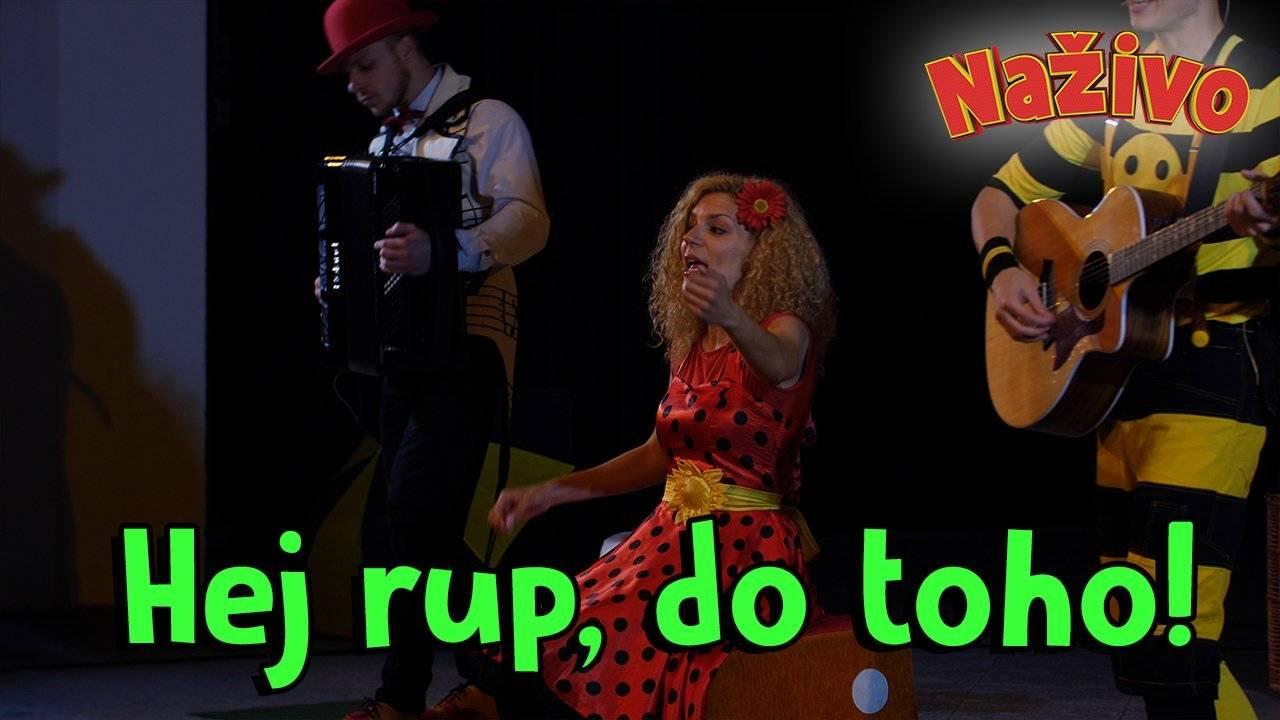 Smejko a Tanculienka NAŽIVO - Hej rup, do toho!
