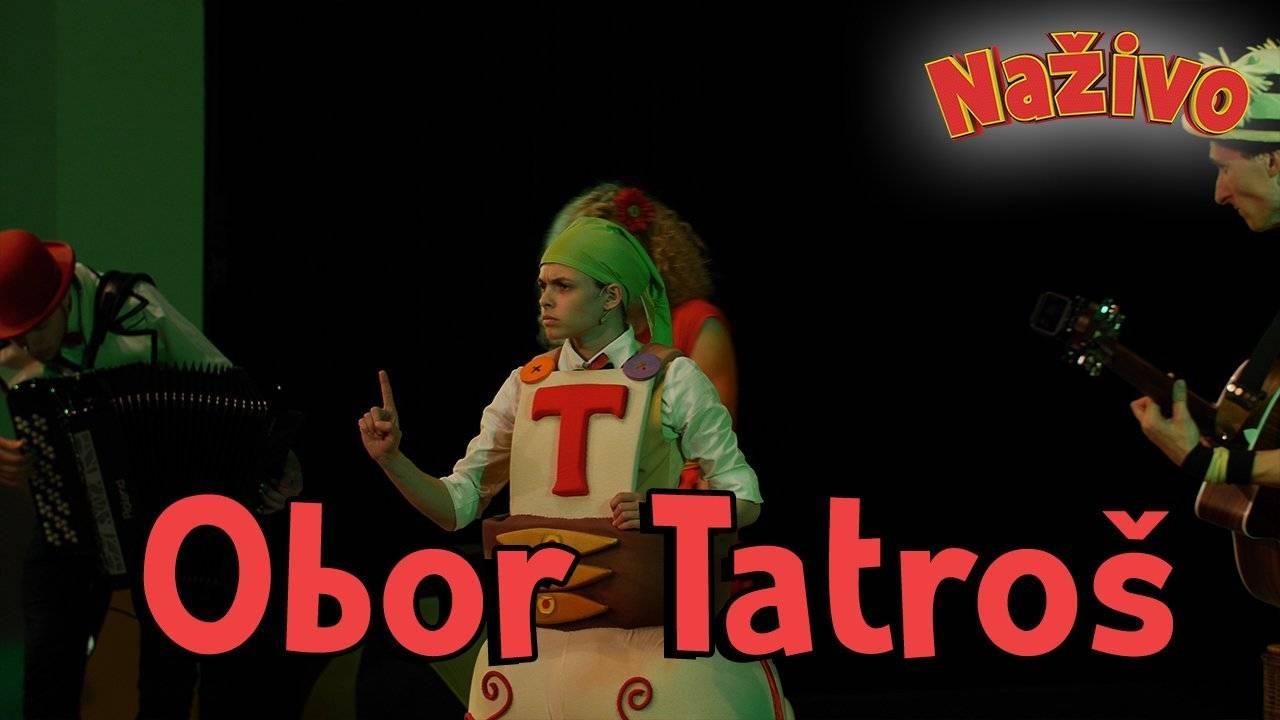 Smejko a Tanculienka NAŽIVO - Obor Tatroš