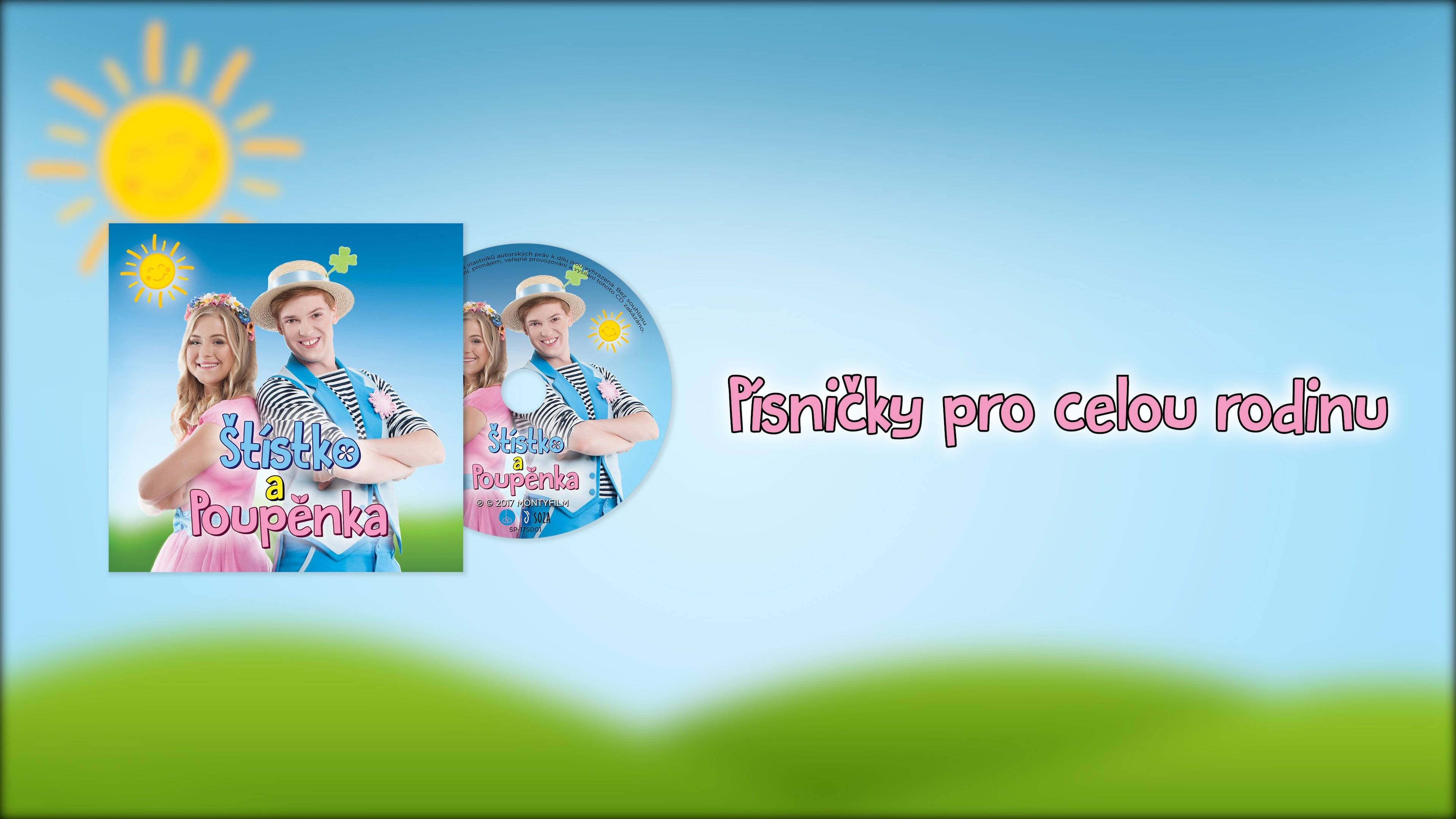 Štístko a Poupěnka CD – Písničky pro celou rodinu