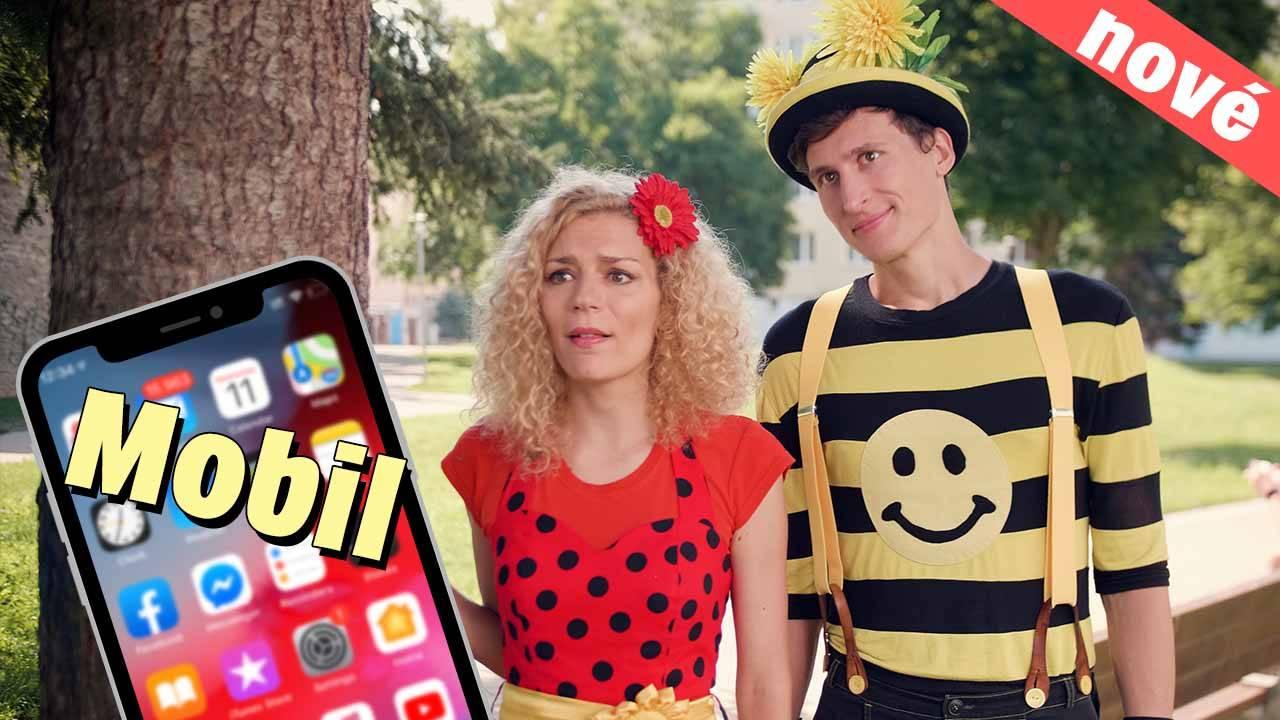 Smejko a Tanculienka - Mobil