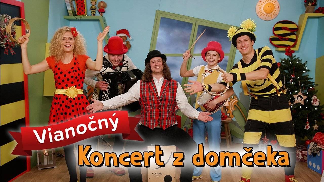 Smejko a Tanculienka - Vianočný koncert z domčeka
