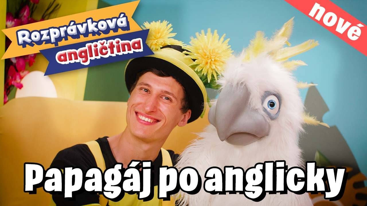 Smejko a Tanculienka - 1. lekcia angličtiny: Papagáj