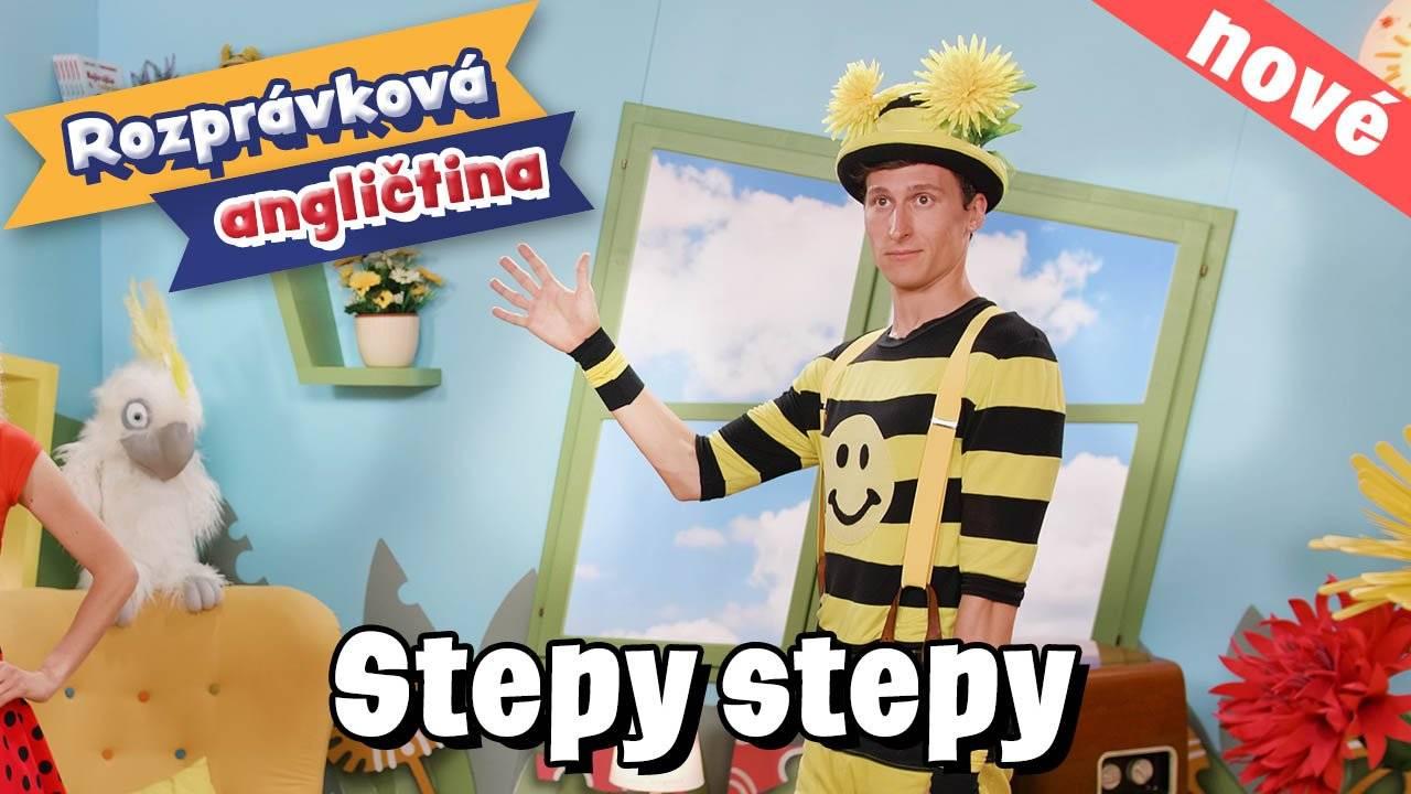 Smejko a Tanculienka - Lekcia angličtiny: Stepy stepy