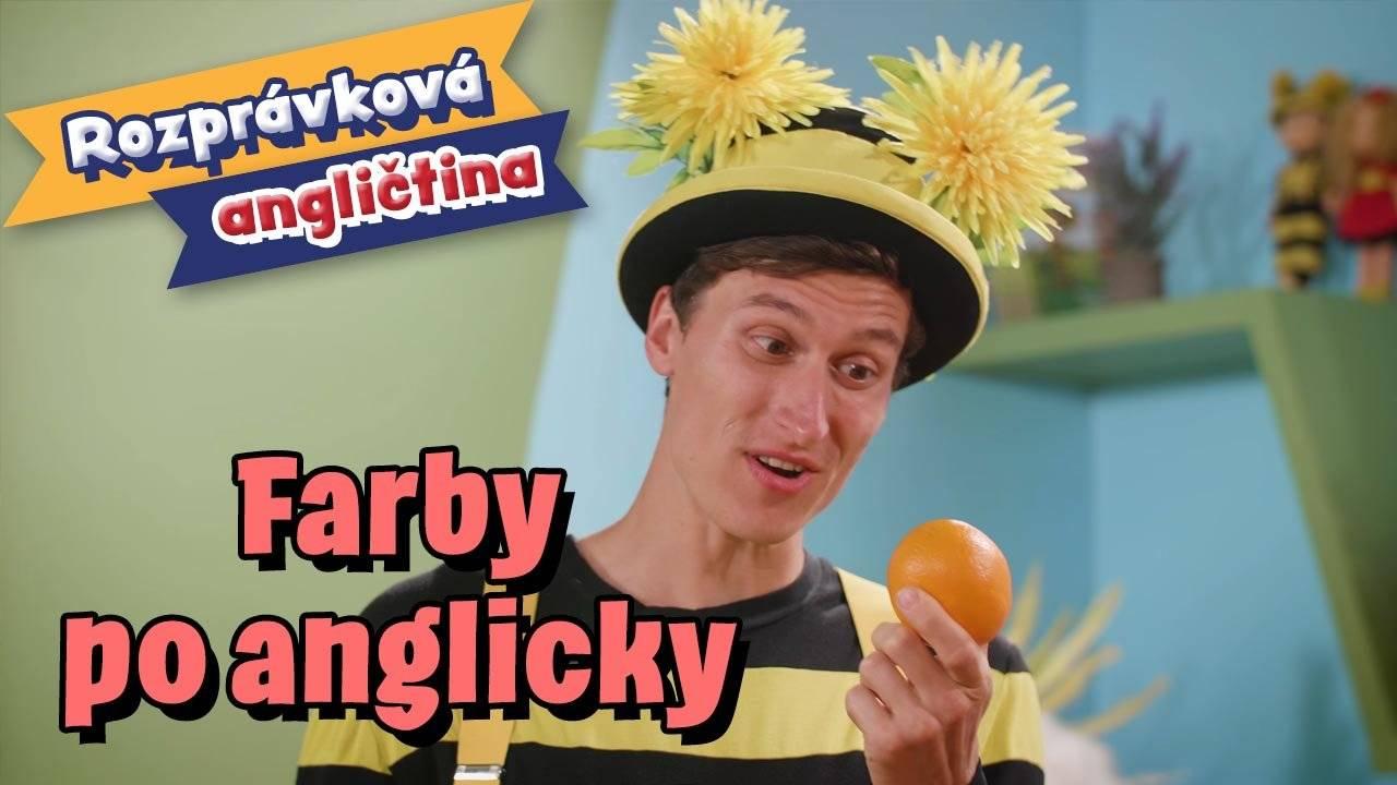 Smejko a Tanculienka - Lekcia angličtiny: Farby